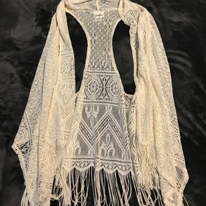 Lace cardigan- BUCKLE brand